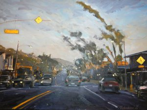Evening Drive by Mark Jacobucci