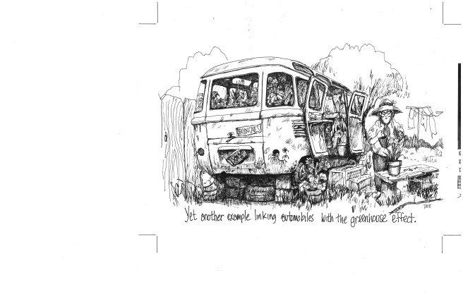 Autos + Greenhouse Effect