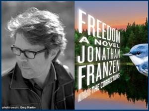 Award Winning Novelist, Jonathan Franzen.  Photo Credit: Newport Beach Public Library