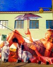By Australian street artist, Fintan Magee